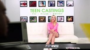 FetishNetwork Aubrey Gold endures s&m casting auditions