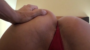 Demoiselle with great forms of body is fond of banging previous to webcam
