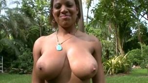 Busty cosset Natasha Dulce amazes with their way nasty and superb big ass and huge tits