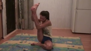Astonishing Russian scene of sexy hot babe Nickel practicing yoga with her guy! The couple joins in a single entity. They miss the pont of time when yoga session turns into extreme everlasting fucking!