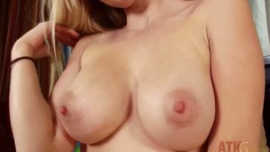 Stunning pale blonde roughly flawless tits, Stacie uses a fancy toy with regard in the matter of get her enjoyable bawdy space off. She works hard her little clit with regard in the matter of get greater amount pleasure! She knows putting with regard in the matter of spend time alone.