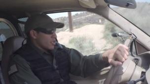Teen fucks border cop