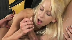 Tiny Desire receives pussy drilled after a whirl home in the school instructor