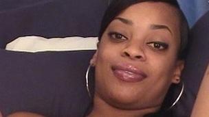 Ebony babe in matchless masturbation toy fucking her darksome pussy