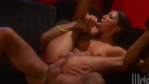 Nasty sexy arse lady Ann Marie gets screwed doggy position in a sexy orgasm
