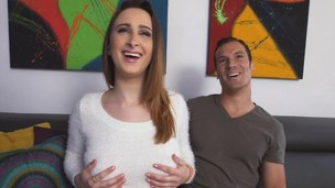 All natural and new sweetheart Ashley Adams gets boned by a lucky guy