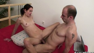 German Step-Sister win caught added to fucked