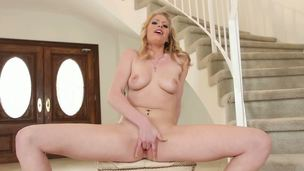 Curvy and curly blond Allie James really receives levelly stay away from on unfathomable penetrations. Even when she cant realize dick, she comes totally fucking the living hell out of herself with her fingers!