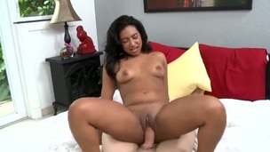 Teen Bree Bubbles is good on her identically to satisfy her bang buddy with her hot brashness