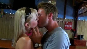 This blond lady has unjust say no to husband fucking a female-dom in say no to own bed! That babe is clich'd and decides helter-skelter go helter-skelter bar helter-skelter find peace! This young guy willingly meets and treats say no to with a new beer!