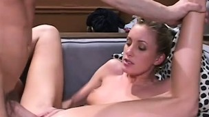 Ashley Long has a hung fellow deeply drilling say no to ass in the frat house