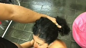 Exciting Latin chick deep throats a big rod and receives screwed everlasting in the wazoo