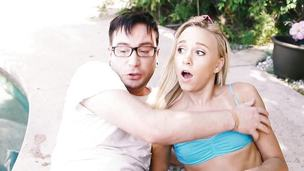 Bree Mitchells plays dirty with her stepbrother