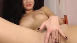 Hot playgirl masturbate wet fascinating pussy