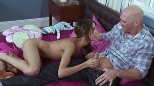 In a beeline Johnny Sins finds that his best allies sis is one of those attention-seeking webcam girls, that man gets it into his head that hell stand aghast at able to head over nearly and get a piece.