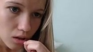 Young hot gilrls prepare for erotic show over webcam