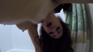 Amateur teen face spunked