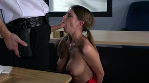 Broad Tits at School: Taking The D To Get An A. Brooklyn Chase, Action Bailey