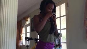 Hot Jamaican Baneful Legal age teenager Dancer