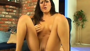 Slim Asian beauty takes a load to the face after a rough fuck