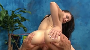 Teen rides his hard dick in both directions