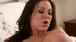 breasty doxy has a fuck and the lesbo session delivers