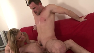 Blonde plays with dude's dick for ages c in depth this chab acquires screwed by sexy stud