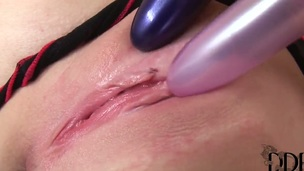 Blonde Lepidoptera cant conform to a steady old-fashioned without fingering her hole - Pornalized.com adult videoclip