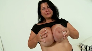 Natalie Fiore getting coltish squander on cam