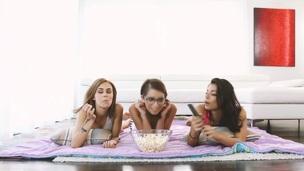 Slutty teen receives eaten